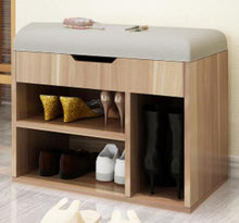 Load image into Gallery viewer, Multipurpose Shoes Storage Stool Modern Shoes-Changing Bench Living Room Shoe Cabinet