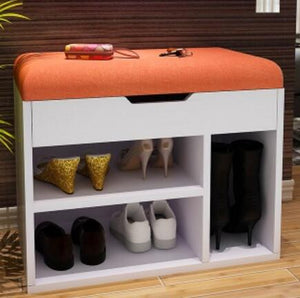 Multipurpose Shoes Storage Stool Modern Shoes-Changing Bench Living Room Shoe Cabinet