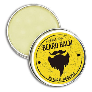 Beard Balm Facial Mustache Care Grooming Moisturizing For Gentleman Men Smoothing Mustaches Styling Products