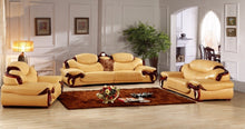 Load image into Gallery viewer, antique European leather sofa set living room sofa made in China sectional sofa