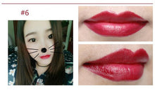 Load image into Gallery viewer, New 16 Colors Cute Makeup For Women Pink Brand Lips Cosmetics Long Lasting Moisturize Change Jelly Matte Lipstick With Flower