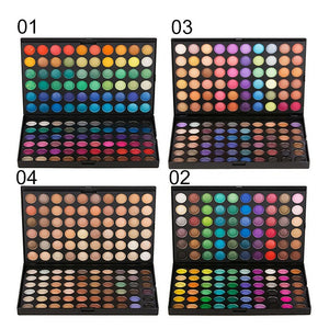 120 Color Fashion Eye Shadow Palette Cosmetics Mineral Make Up Eye Shadow Palette Eyeshadow Set For Beauty 4 Styles