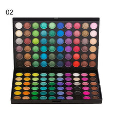 Load image into Gallery viewer, 120 Color Fashion Eye Shadow Palette Cosmetics Mineral Make Up Eye Shadow Palette Eyeshadow Set For Beauty 4 Styles