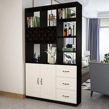 Load image into Gallery viewer, New Modern Minimalist Multi-Function Cabinet Home Porch Cabinet Living Room Dining Room Decoration Cabinet Wine Cabinet Rack