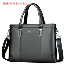 Load image into Gallery viewer, Classic Design Unisex Handbag Business Briefcase Computer Office Bags Waterproof PVC Fabric Travel Work Shoulder Bag