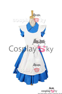 Alice In Wonderland Tim Burton Alice Kleid Cosplay Kostüm
