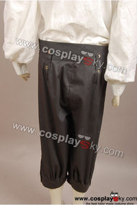 Pirates Of The Caribbean Jack Sparrow Fluch der Karibik Johnny Depp Nur 1 Hose Cosplay Kostüm