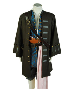 Pirates of the Caribbean 5 Fluch der Karibik Jack Sparrow Johnny Depp Set Cosplay Kostüm
