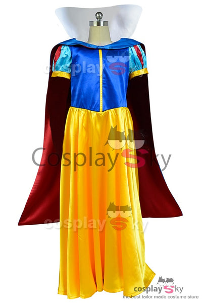 Disney Prinzessin Snow White Schneewittchen Cosplay Kostuem Kind Version