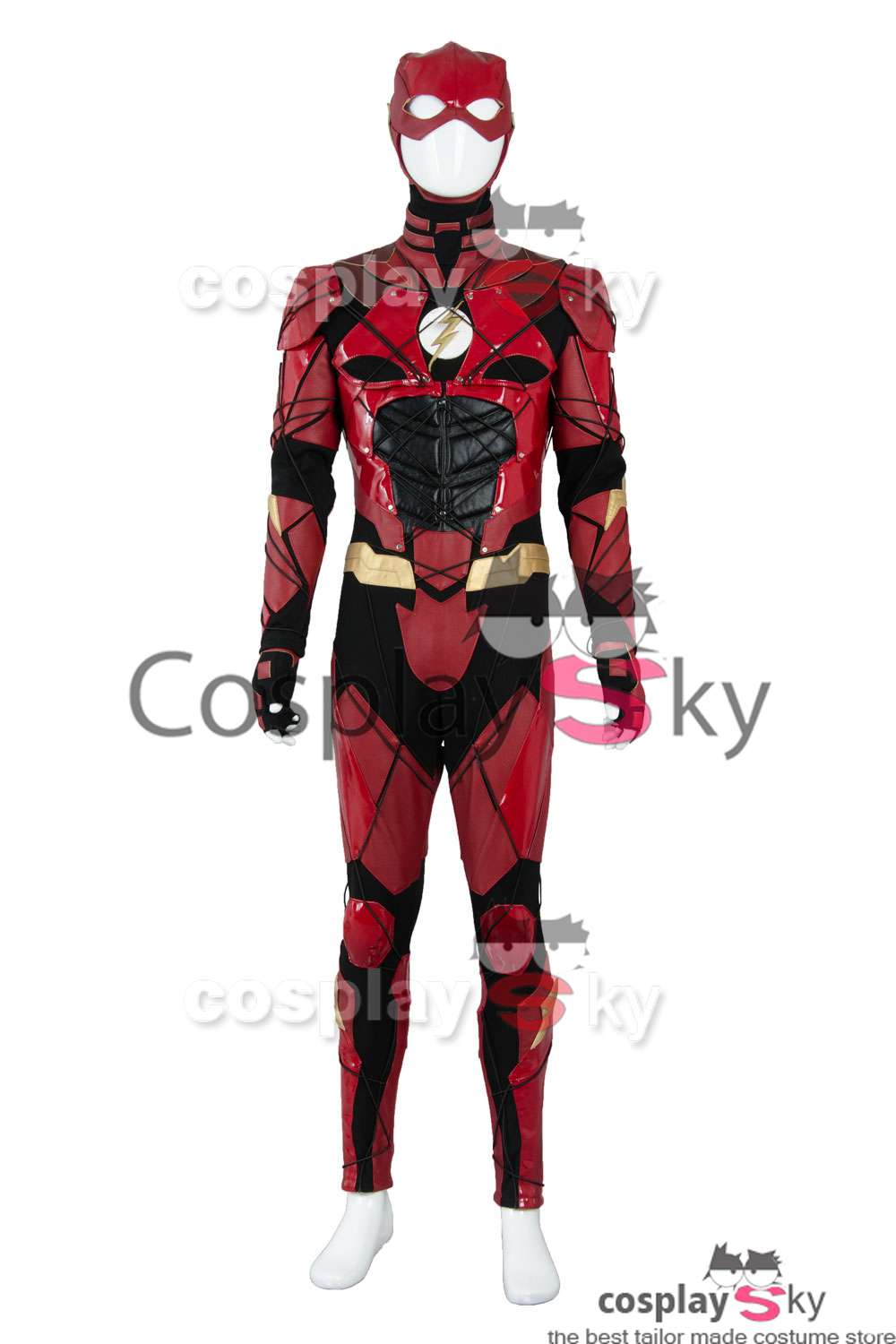 Justice League 2017 Film Barry Allen Flash Outfit Halloween Cosplay Kostüm