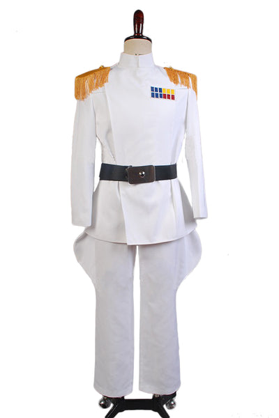 Star Wars Imperial Officer Star Wars Offizier Weiß Grand Admiral Uniform Cosplay Kostüm