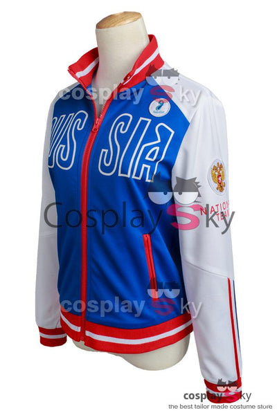 Yuri on Ice Yuri Plisetsky nur Jacke Cosplay Kostüm