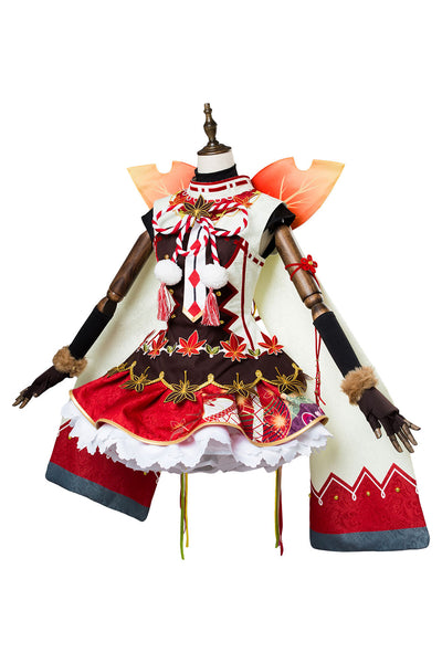 Love Live ! Chika Yoschiko Tsushima Fall Leaves Ver. SR 1356 Cosplay Kostüm NEU