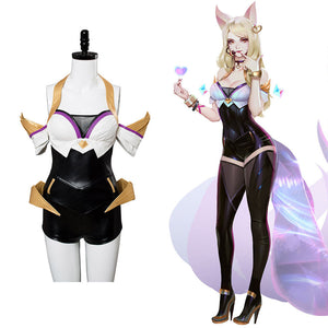 League of Legends LOL Ahri K/DA hAUT Skin Cosplay Kostüm