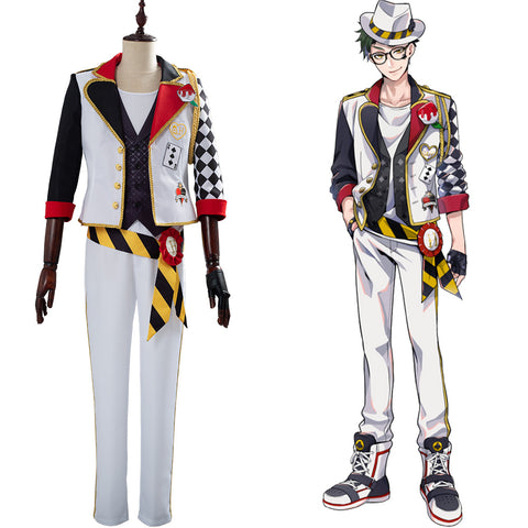 Alice in Wonderland Themen Alice im Wunderland Trey Twisted-Wonderland Cosplay Kostüm