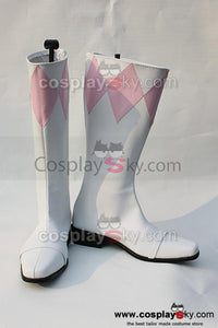 Mighty Morphin Power Rangers Mei Ptera Ranger Cosplay Boots Shoes