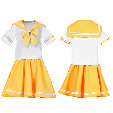 Sailor Moon Sailor Venus JK Uniform Kinder Mädchen Matrosenanzug Cosplay Kostüm