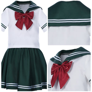 Sailor Moon Sailor Jupiter JK Uniform Kinder Mädchen Matrosenanzug