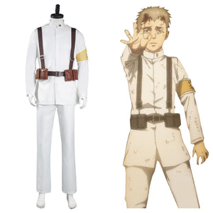 Shingeki no Kyojin Attack on Titan 4 Marley Eldia Uniform Cosplay Kostüm Halloween Karneval Kostüm