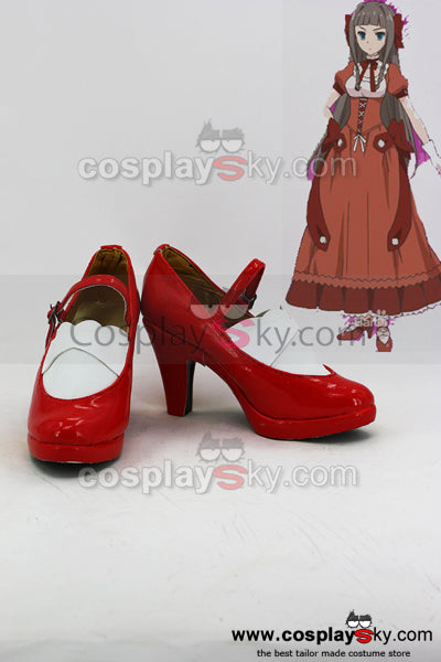 Problem Children are Coming from Another World, aren't They? Kudo Asuka Cosplay Schuhe Massfertig