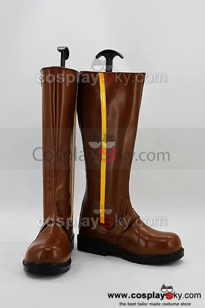RWBY Gelb Anhänger Yang Xiao Long Cosplay Stiefel