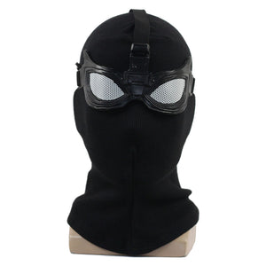 Spiderman 2: Far From Home Spider-Man Noir Avengers Peter Parker Tom Holland Maske Cosplay Maske Schwarz