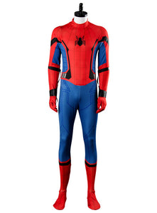 2017 Film SpiderMan Homecoming Spider man Jumpsuit Cosplay Kostüm