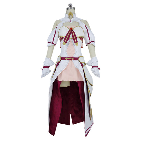Cosplay SAO Sword Art Online Alicization Lycoris Yuuki Asuna Kostüm