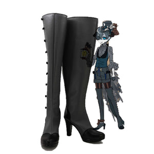 Black Butler Earl Ciel Phantomhive Evil Costume Cosplay Stiefel Schuhe