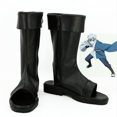 Boruto: Naruto the Movie Mitsuki Stiefel Cosplay Schuhe