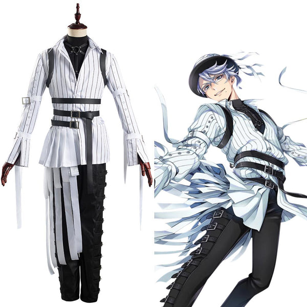 Azul/Floyd/Jade Uniform Twisted-Wonderland Cosplay Halloween Karneval Kostüm