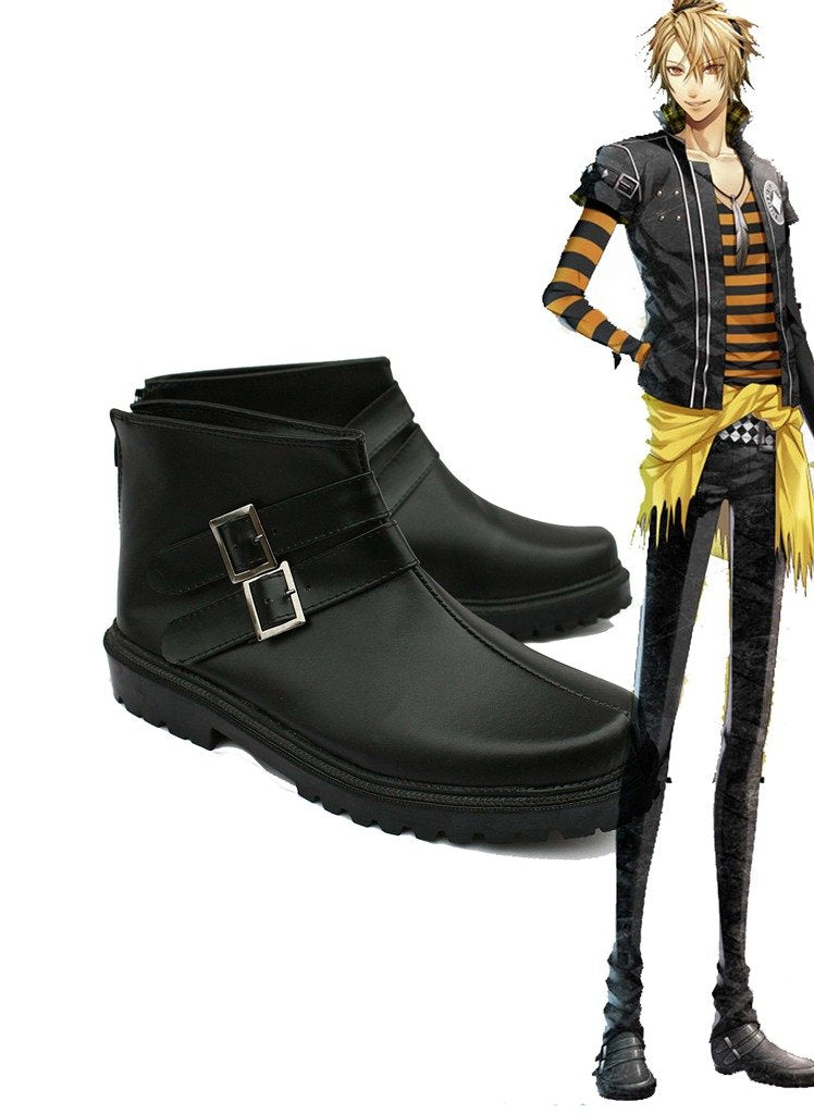 Amnesia Toma Cosplay Schuhe Stiefel