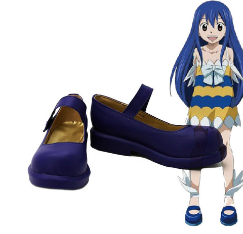 Fairy Tail Wendy Marvell Schuhe Cosplay Schuhe