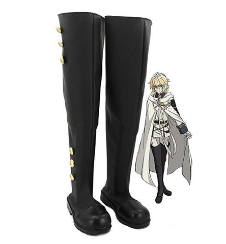 Seraph of the End Ferid Bathory Stiefel Cosplay Schuhe