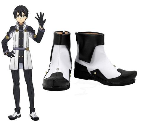 SAO Sword Art Online the Movie Ordinal Scale OS Kirigaya/Kirito Schuhe Cosplay Schuhe