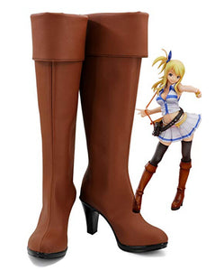 Fairy Tail Lucy Schuhe Cosplay Schuhe Stiefel Version 2