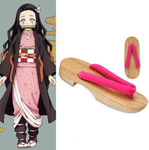 Demon Slayer: Kimetsu no Yaiba Nezuko Kamado  Schuhe Cosplay Schuhe
