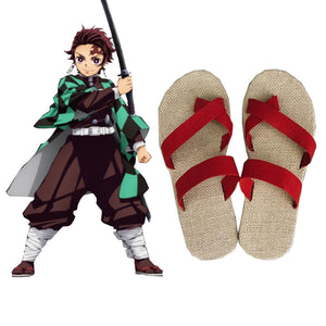 Demon Slayer Kimetsu no Yaiba Kamado Tanjirou Schuhe Cosplay Schuhe