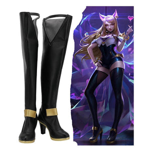 LOL League Game Kda Ahri Stiefel Cosplay Schuhe