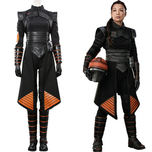 Star Wars The Mandalorian Fennec Shand Cosplay Halloween Karneval Kostüme