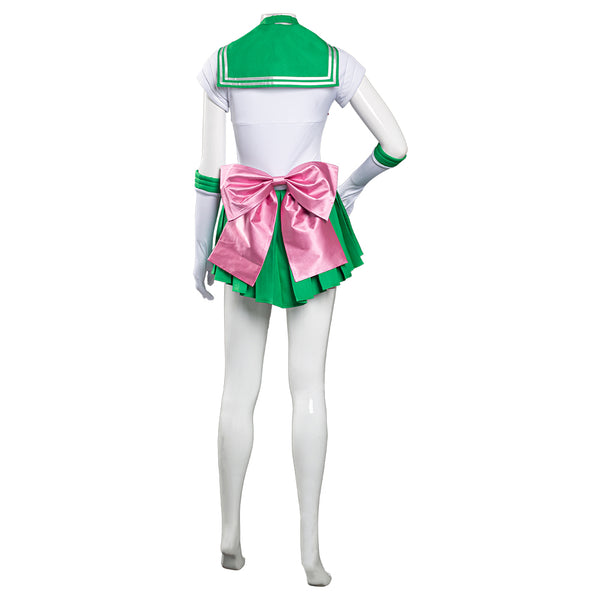 Sailor Moon Makoto Kino Uniform Cosplay Kostüm Sailor Jupiter Halloween Karneval Kostüm