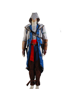 AC Credo des Assassinen Assassin's Creed 4 Edward Kenway Kostüm Schwaze Flagge Kleidung Cosplay