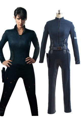 Agents of S.H.I.E.L.D. Stellvertretender Direktor Maria Hill Uniform Cosplay Kostüm