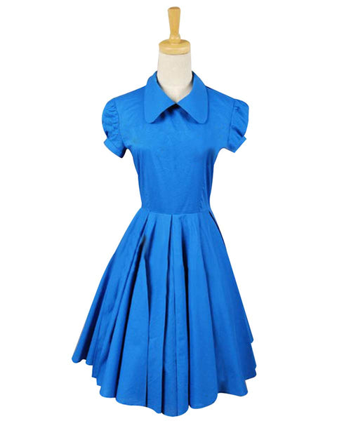 Alice In Wonderland Tim Burton Alice Kleid Cosplay Kostüm Dienstmädchen Kleid