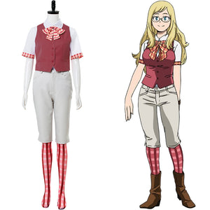 Boku no Hero Academia My Hero Academia:Two Heroes Melissa Shield Cosplay Kostüm Set