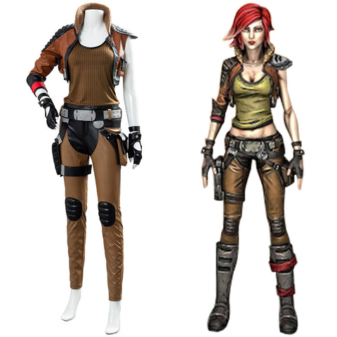 Borderlands 3 Sirenen Lilith Cosplay Kostüm Set