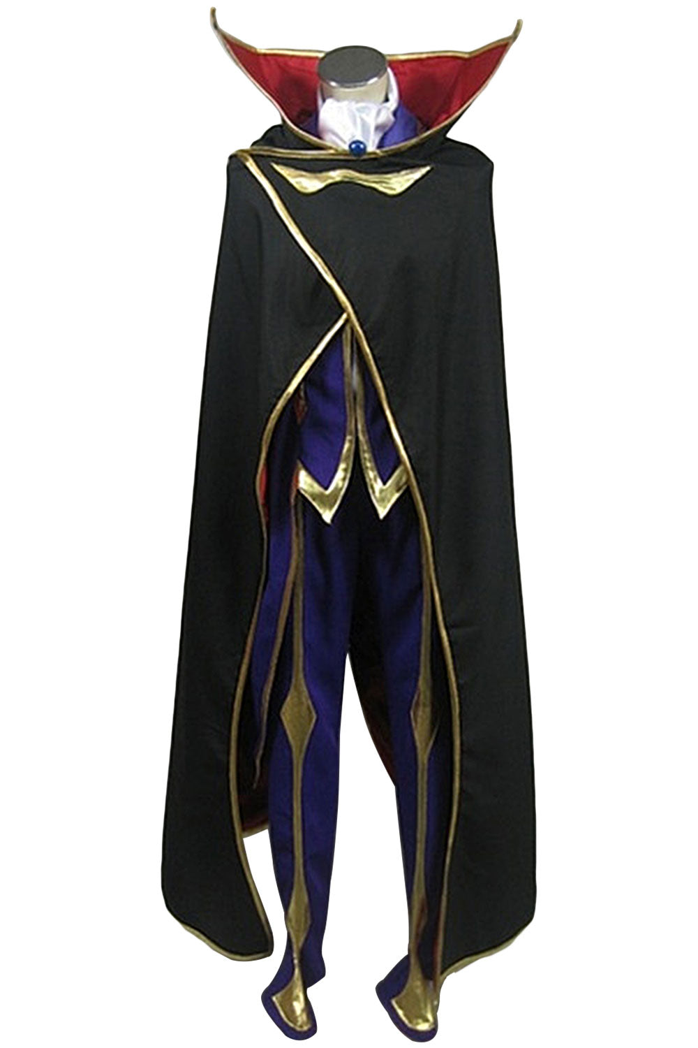 Code Geass: Lelouch of the Rebellion Zero Outfit Cosplay Kostüm Set