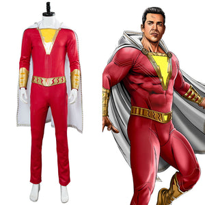 DC Film-Shazam- Billy Batson Cosplay Kostüm NEU