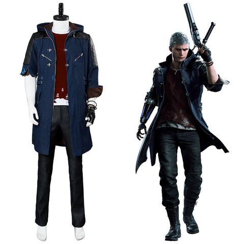 DMC5 DMCV Devil May Cry Nero Cosplay Kostüm NEU