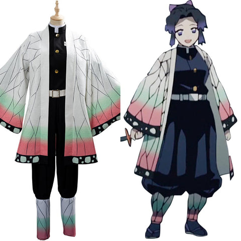 Demon Slayer Kimetsu no Yaiba Shinobu Kocho Cosplay Kostüm